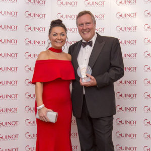 Lousie Dent of Hana Beauty Clinic is awarded Guinot's Beauty Therapist of the Year
